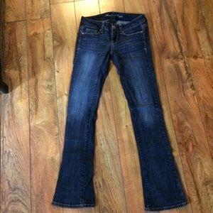 American Eagle skinny kick stretch jeans